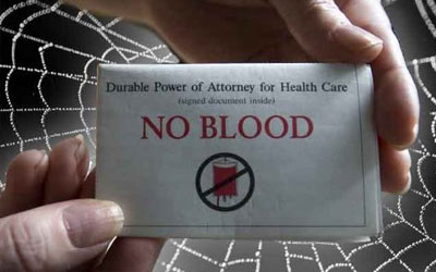 "Watchtower ""No Blood Card"""